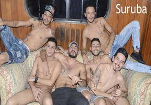 Oficina Suruba (Marcelinho, Robson, Giovani, Henrique Leke, Rafael Mendes, Enrico Lobo)