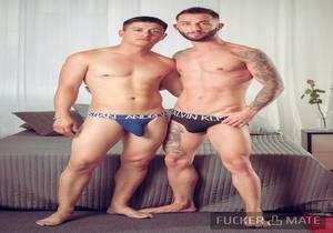 Alejandro Torres and David Chacon – David's first time (Bareback)