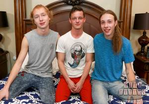 Andrew Callahan, Dylan Hart & Jamie Satin (Bareback)
