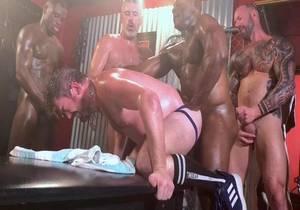 That Slut London's Gangbang Pt 2 (Bareback)