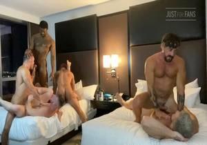 Jake Nicola Orgy Part 3 (Bareback)