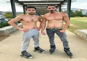 Johnny Rapid, Damien Kyle – Roller Dick (Bareback)