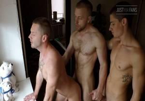 Mars, Kostya & Tim – Bareback Threesome
