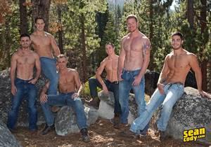 Tanner, Bryce, Coleman, David, Andy, Noel – Mountain Getaway Day 4 – POP-UP (Bareback)