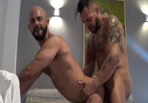 The sexy Christian DUARTE fucked bareback by the top pornstar Viktor ROM