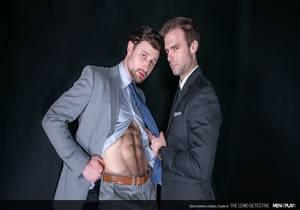 Drew Dixon, Gabriel Clark – The Lewd Detective (Bareback)