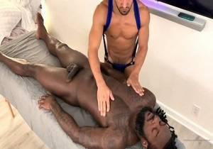 Rhyheim Shabazz – Massage by Aaron with James Anthony (welovejamesant)