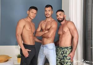 The Tourist : Guido Plaza, Santiago Rodriguez, Valdo Smith (Bareback)