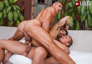 Manuel Skye And Isaac X Spit-Roast Jim Fit (Bareback)