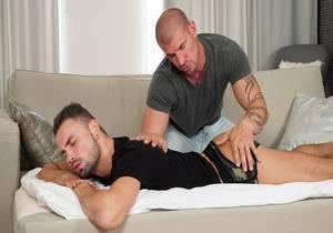 Max Bourne , Geoffrey Lloyd «Massage on the Couch»
